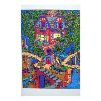 My Treehouse 132 by Piliero Custom Stationery