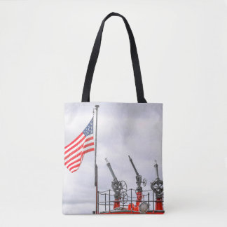 My Tribute To Maritime Firefighters Tote Bag