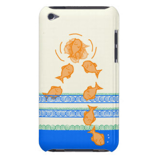 My Trick Goldfish ipod Touch, Barely There Case iPod Case-Mate Case