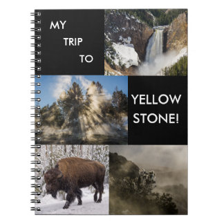 My Trip to Yellowstone National Park Notebook