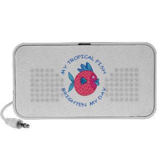 MY TROPICAL FISH iPod SPEAKER