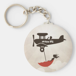 My Tuesday Dream - Umbrella Fantasy Basic Round Button Key Ring