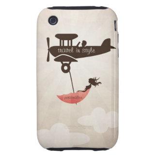 My Tuesday Dream - Umbrella Fantasy iPhone 3 Tough Covers