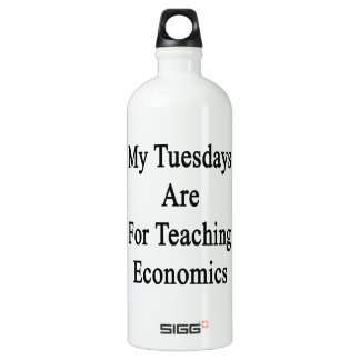 My Tuesdays Are For Teaching Economics SIGG Traveller 1.0L Water Bottle