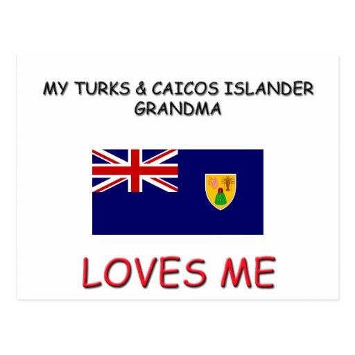 My Turks & Caicos Islander Grandma Loves Me Postcards