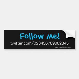 My Twitter Tee - Bumper Sticker