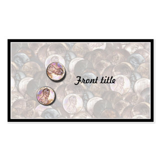 My Two Cents Worth (Lightened Background) Pack Of Standard Business Cards