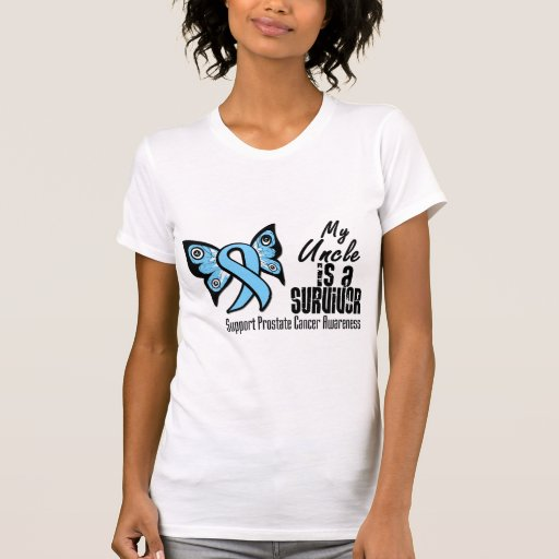 My Uncle is a Survivor - Prostate Cancer Tee Shirt