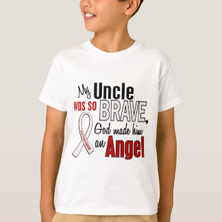 My Uncle Is An Angel Lung Cancer Tee Shirts
