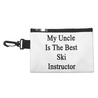 My Uncle Is The Best Ski Instructor Accessories Bag