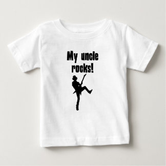 My Uncle Rocks Baby T-Shirt