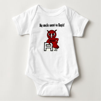 My uncle went to Regis! Baby Bodysuit