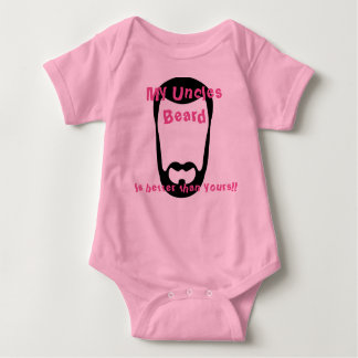 My Uncles Beard Baby Bodysuit