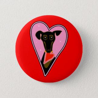 My Valentine 6 Cm Round Badge
