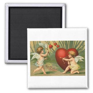 My Valentine Square Magnet