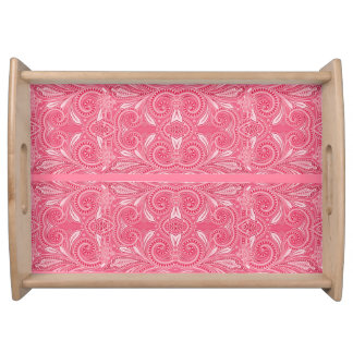 """""""My Vanity"""" Tropical Pink* Serving Tray"""