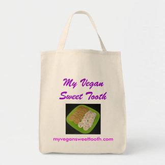 My Vegan Sweet Tooth organic grocery bag