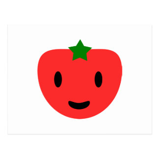 My very Happy Tomato Postcard