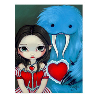 """My Very Strange Valentine"" Postcard"