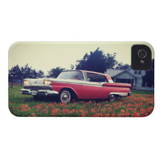 My Vintage Life - Texas Wildflowers & Ford Galaxie iPhone 4 Cases
