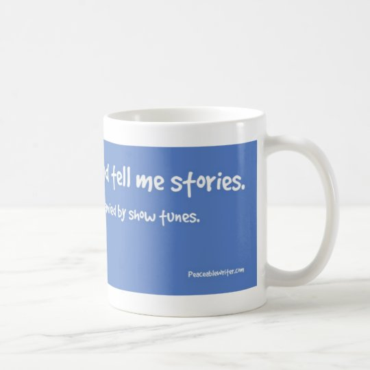 My Voices Tell Me Stories Coffee Mug