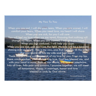 My Vow To You Posters