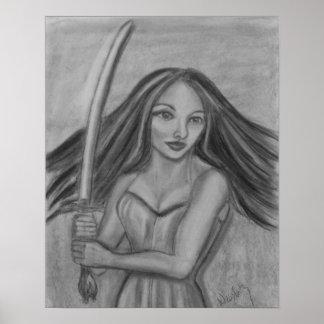 My Warrior Spirit Poster