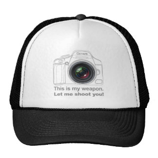 My Weapon Mesh Hats