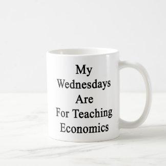 My Wednesdays Are For Teaching Economics Basic White Mug