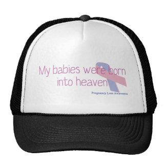 My were born into heaven cap