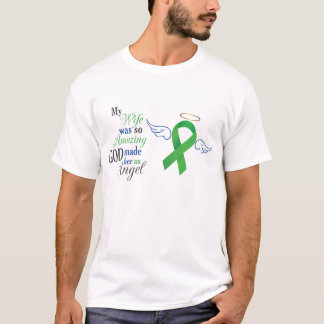 My Wife An Angel - Bile Duct Cancer T-Shirt