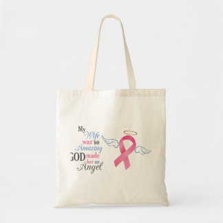 My Wife An Angel - Budget Tote Bag