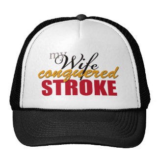 My Wife Conquered Stroke Cap
