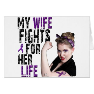 My WIFE Fights.... Cards