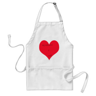 My Wife/Husband is Adult Apron