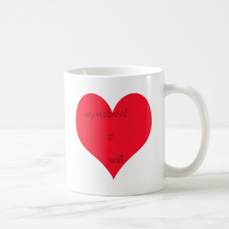 My Wife/Husband is Basic White Mug