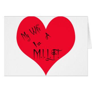 My Wife/Husband is Greeting Card