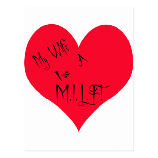 My Wife/Husband is Postcard