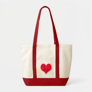 My Wife Is A M.I.L.F. Canvas Bag