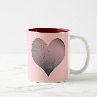 My Wife Is A M.I.L.F. Two-Tone Mug
