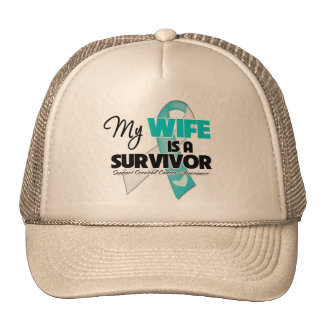 My Wife is a Survivor - Cervical Cancer Cap