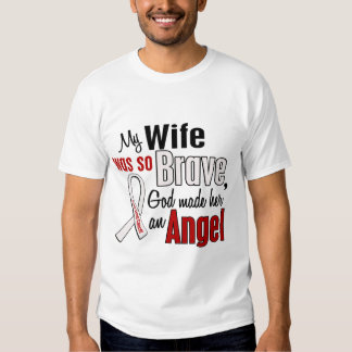 My Wife Is An Angel Lung Cancer Tshirt
