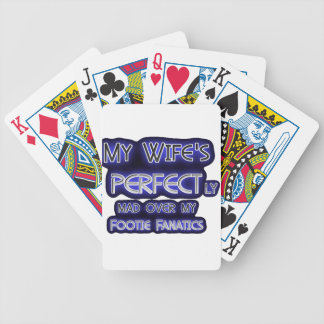 My Wife is Perfect Bicycle Playing Cards