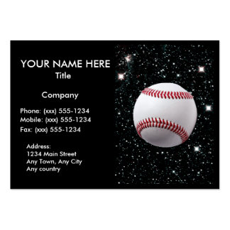 MY WORLD: BASEBALL (for baseball professionals) Pack Of Chubby Business Cards