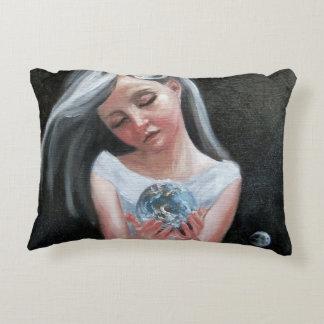 My World Decorative Cushion