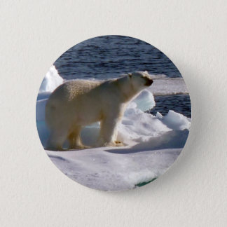 My World is melting! 6 Cm Round Badge