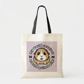 My World Revolves...Guinea Pig Shopping Bag