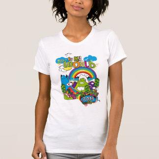 my-world tee shirt