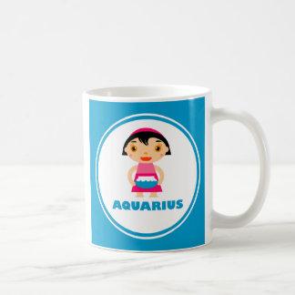My Zodiac Sign is Aquarius Basic White Mug