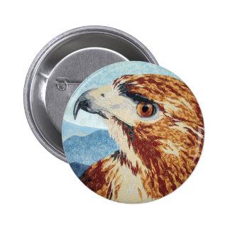 Mya - Red-tail Hawk Button